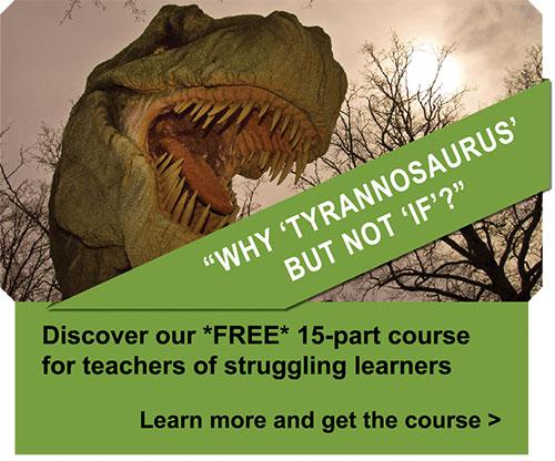 Why Tyrannosaurus